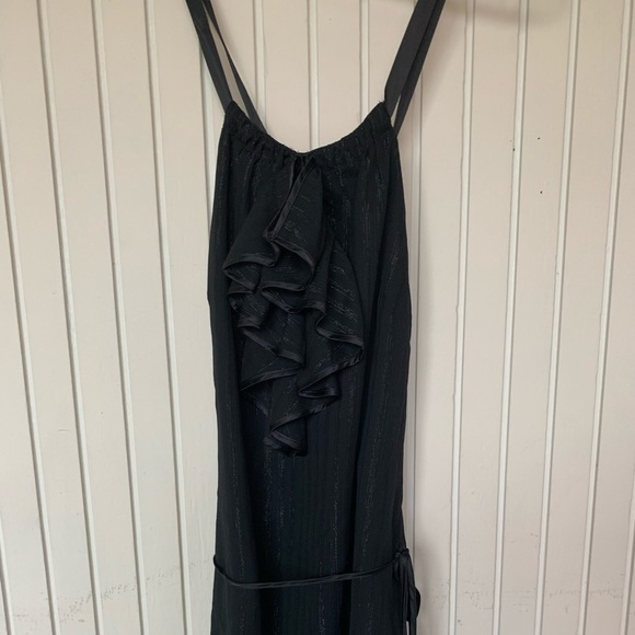 BCBGeneration Dresses & Skirts - BCBGeneration black mini dress with shimmer accent